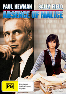 Absence of Malice - DVD (NEW & SEALED)