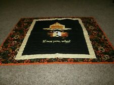 Handmade Baby Quilt  Smokey The Bear if Not You Who?