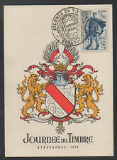 JOURNEE DU TIMBRE / 1950 # 863 SUR CARTE MAXIMUM FDC / COTE 38 € (ref 3920)