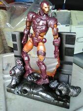 "Toybiz Marvel Legends MODERN ARMOR  Iron Man 6""  Loose Complete w/Base"