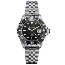 Davosa Automatic Stainless Steel Black Face Ternos Ceramic Wrist Watch