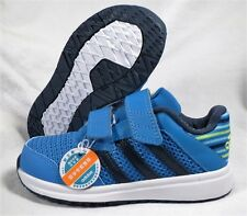 ADIDAS SNICE 4 CF BLUE/GREEN BOYS/GIRLS BABY/TODDLER SHOES SIZE 5