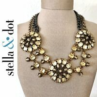 Stella & Dot Estate Bib Statement Necklace $198