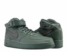 NEW IN BOX NIKE AIR FORCE 1 MID '07 GREEN / BLACK SWOOSH MEN'S SIZE 8.5 SHOES