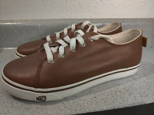 Keen Timmons Men's New British Tan Leather Sneakers size 10 New
