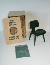 VITRA DESIGN Museum Miniatures ~ DCW BLACK Chair by Charles & Ray Eames ~ MIB