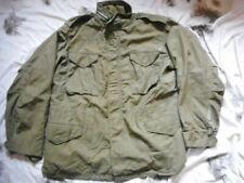 ORIGINAL US Army early VIETNAM war ISSUE M65 FIELD COAT COMBAT jacket OG107 L R
