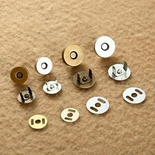 Sewing Magnetic Clasp Fastener Snaps Button For Purse Bag Craft Fittings Round