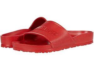 Birkenstock Barbados Essentials Slides for Men Women Unisex Slippers NIB
