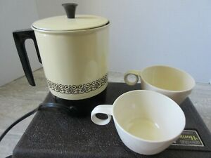 Old Vintage Empire Home 'N Away Coffeemaker Travel Kit Plastic and Metal
