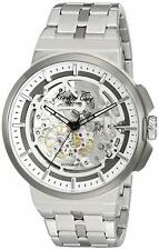 Kenneth Cole Automatic 21 Jewels Skeleton Dial Silver Steel Men's Watch 10022315
