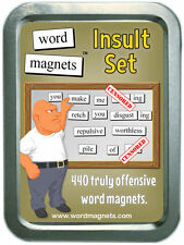 Word Magnets Insult Set