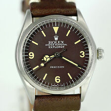 VINTAGE ROLEX EXPLORER 5500 STAINLESS STEEL MENS WATCH