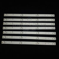 7pcs Replacement LED Strip for SVH420AA7 Hisense/Sharp 43H7C 43H7C2 LC-43N4000U