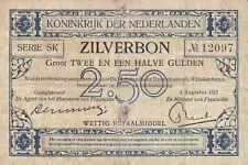 2½ gulden 1917 / 016