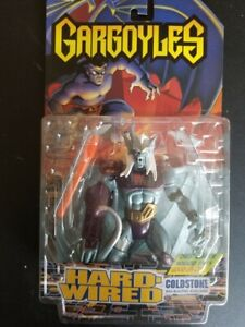 GARGOYLES 1996 HARD-WIRED Coldstone Projectile Blasting Robo Arm ***See Pics***