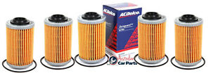 Oil Filter pack of 5 ACDelco suitable for VZ VE VF V6 HOLDEN Commodore 3.6 3.0 A