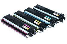 Office Toner Set für Brother TN 230 TN230 HL 3040 CN Rebuilt 4 Farben
