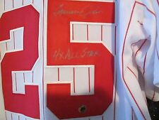 AUTOGRAPH CHICAGO WHITE SOX TOMMY JOHN #25 SIGNED WHITE W/RED MEDIUM JERSEY COA
