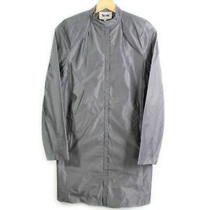 Acne Studios Bergman 1 A/W 09 Polyester Oversized Coat Jacket Size 34 XS