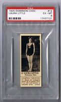 1925 Dominion Choc. Sports Card #12 Laura Little (Diving) Graded PSA 6