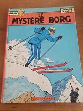 Bd Le Mystère de Borg Edition 1965 Casterman