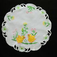 Amazing Easter Tablecloth Doily Napkin Placemats Table runners Round 40 cm