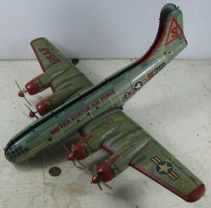 Vintage Friction United States Air Force BK 250 Yonezawa Japan