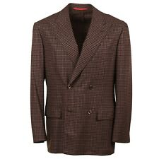 D'Avenza Soft-Constructed Wool and Cashmere Sport Coat 42R (Eu 52) NWT
