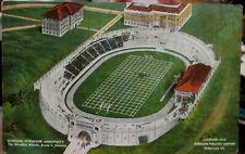 1910 Aerial view of Stadium at Syracuse University New York postcard view
