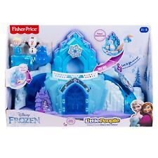Fisher Price Little People Disney Frozen Elsa's Ice Palace Light Up Playset