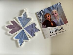 Disney Store Frozen 2 Snowflake Hanging Decoration To Match Opening Ceremony Key