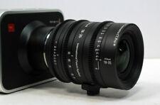 Customized cine sigma 18-35 canon mount t2 for bmcc ursa mini c300 red raven