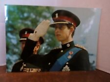 Vintage Prince Charles Postcard H.R.H. The Prince of Wales Colonel in Chief