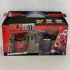 New Sealed Ninja Bots Hilarious Battling Robots 6 Weapons 2 bots 100+ Sounds