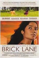 BRICK LANE Movie POSTER 27x40 Tannishtha Chatterjee Satish Kaushik Christopher
