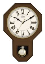 Acctim Woodstock Dark Wood Effect Wall Clock 28316