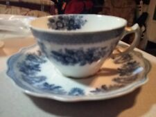 Vintage Grindley England Fine Bone China Tea Cup & Saucer Set England