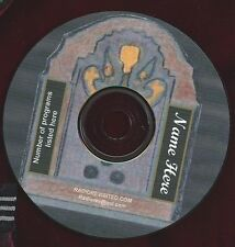 WITCH'S TALE 47 vintage old time radio horror shows mp3 cd OTR plus plastic case