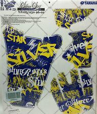 AMR Racing Graphic Kit Sale For Yamaha YZ 125/250 Dirt Bike 96-01 SILVER STAR