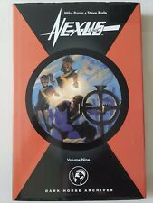 NEXUS DARK HORSE ARCHIVES Volume 9 HARDCOVER 2009 MIKE BARON! STEVE RUDE!