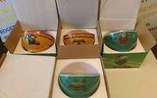 Set 4 Kung Fu Panda 3 Movie Promotional Noodle/Cereal Ceramic Bowls 2 x LI & MEI