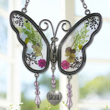 Mother Gift Butterfly Mom Fashion Jewelry Women Heat Charm Glass Decoration A
