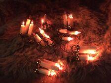 Kurt Adler 21 Light Triple Candle Light Sets in Amber UL1583 SEE VIDEO