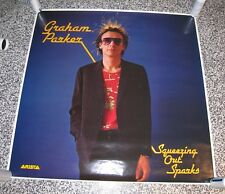 """GRAHAM PARKER """"SQUEEZING OUT SPARKS"""" SUPER RARE ALBUM POSTER FROM 1979"""