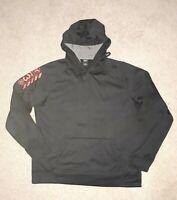 Reebok Mens Play Warm black Hoodie Sweatshirt Athletic Crossfit Size L.