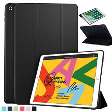 For Apple iPad 7th Gen Pro Air Mini Tablet Case Slim Silicone Smart Stand Cover