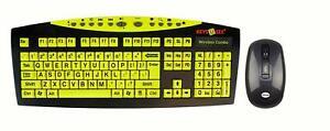 The Key Connection K115-1008 YKB-LPW-YUSB Wireless Keyboard