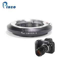 Pixco Adapter For Leica M Lens to Canon EOS R RF Mount Mirrorless Full Frame