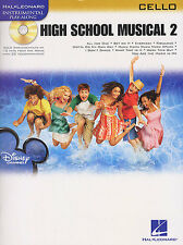 High School Musical 2 Sheet Music Book + CD for CELLO